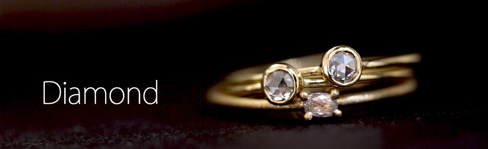 ダイヤモンドを使用したジュエリー
