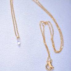 画像10: 【K18】0.195ct VS-2 ブリオレットカット ダイヤモンド ネックレス (10)
