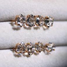 画像9: *TSUBOMI*ダイヤモンドクォーツ スタッドピアス 片耳ずつ選択 (9)
