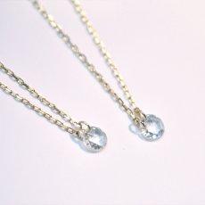 画像7: 【K10】 0.08ct ローズカットダイヤモンド ネックレス (7)