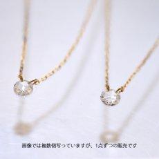 画像5: 【K10】 0.08ct ローズカットダイヤモンド ネックレス (5)